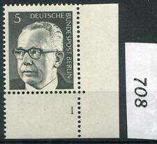 Berlin Mi-Nr 359  (5 pf) Ecke 4 mit Formnummer 1  ** Postfrisch 1970 (708)