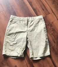 Gap Khaki Boyfriend Roll up Khaki Shorts Size 0
