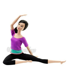 Made to Move Barbie Kira - Ultimate Posable Fashionistas Asian Yoga Doll DHL81