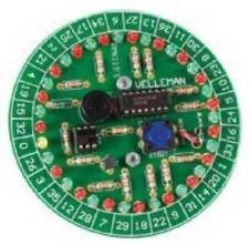 NEW Roulette Kit for Basic Diode Installation.Soldering Practice.Microprocessor