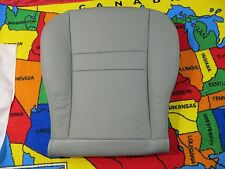 2005 06 Dodge Ram 1500 2500 Power  driver side Bottom Leather Seat cover (GRAY)