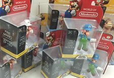 "Nintendo Super Mario Bros 2.5"" Action Figure Set (Diddy,Donkey,Mario+Luigi) x 5"