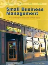 Small Business Management: An Entrepreneurial Emphasis No CD