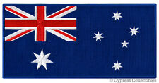 LARGE AUSTRALIA FLAG PATCH embroidered iron-on AUSSIE DOWN UNDER AUSTRALIAN new