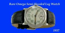 Mint Mens Omega Semi-Hooded Lug Watch 1937