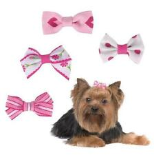 Aria Pretty in Pink Dog Grooming Bows Assorted 4 Pack