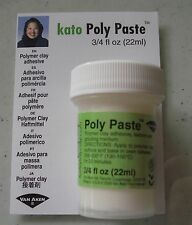 Kato Poly Paste, New Polymer clay in a paste form.Bond uncured and cured clays