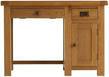 Ribble solid oak furniture small office PC computer desk