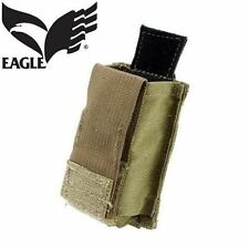 NEW EAGLE INDUSTRIES M9 9MM 15RD MAGAZINE POUCH MAG POUCH KYDEX INSERT COYOTE