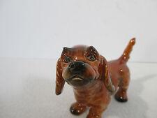 Goebel Terrier Puppy Dog Figurine Vintage West Germany TMK Brown Playful Cute