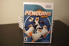 The Penguins of Madagascar - The Game (Nintendo Wii, 2014) *New / Factory Sealed