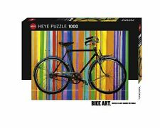 BIKE ART 1000 PIECE JIGSAW PUZZLE HY29541 Heye Puzzles  1000 Pc Freedom Deluxe