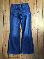 DIESEL LADIES DARK BLUE BOOTCUT LEG DENIM JEANS W25 L30