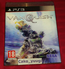 VANQUISH SONY PS3 NEUF SOUS BLISTER VERSION 100% FRANCAISE JAQUETTE LENTICULAIRE