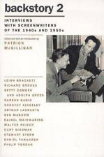 Backstory 2: Interviews with Screenwriters of the 1940s and 1950s by McGilligan