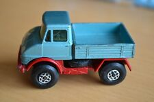 Matchbox Lesney Superfast No 49 Metallic Blue Mercedes Unimog Truck