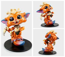 LEAGUE OF LEGENDS/ FIGURA GNAR 10 CM - LOL FIGURE GNAR #22 NO BOX 4""