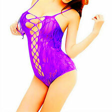 Sexy-Lingerie-Sleepwear-Women's-G-string-Dress-Lace-Underwear-Babydoll-Nightwear