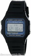 Casio F105W-1 Mens Black Digital Sports Watch Alarm Chronograph El Backlight