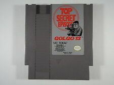 ¤ Golgo 13 Top Secret Episode ¤ (Game Cart) GREAT Nintendo NES