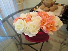 New for Sales - Handcrafted Floral Arrangements ( Pink Rose & White Rose)
