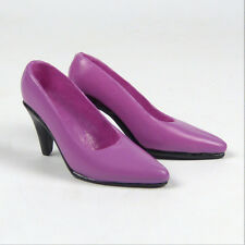 1/6 Scale Phicen, Kumik, ZC, TTL & Very Cool - Female Purple High Heel Shoes