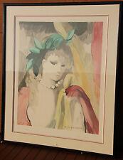 Marie LAURENCIN - Lithographie lithograph signée numérotée encadrée