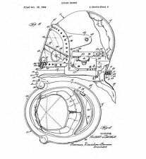 Diving Helmet - Copy of Patent dated 1967