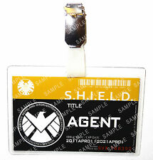 Marvel Agents of Shield Avengers Agent ID Badge Cosplay Costume Prop Comic Con
