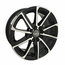 "15"" TOYOTA AYGO ALLOY WHEELS BLACK 4x100 4 STUD (05 ONWARDS)"