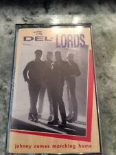 1986 The Del-Lords, Johnny Comes Marching Home Cassette Tape