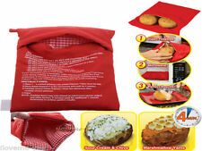 New Cooker Bag Baked Potato Cooking Potato Microwave Washable FE