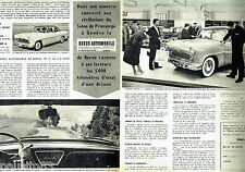 PUBLICITE ADVERTISING 076  1959  la Simca  Ariane (2 pages)