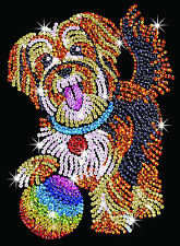 Sequin Art Puppy Craft Kit by KSG SA1218