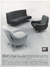 PUBLICITE ADVERTISING 105  1958  ARFLEX-FRANCE   fauteuil sièges 3