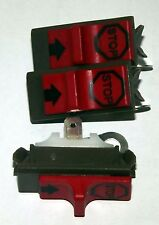 3 x Stop , on/off switches to suit Husqvarna 36,41,136,142,51,55,266,288 + more