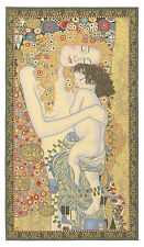 "Three Ages of Women Gustav Klimt Belgium Tapestry Wall Hanging H44"" x W24"""