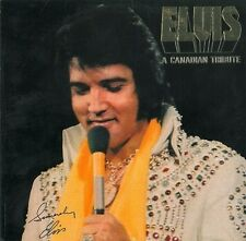 ELVIS PRESLEY A Canadian Tribute Vinyl Record LP RCA KKL1-7065 1978 Gold Vinyl