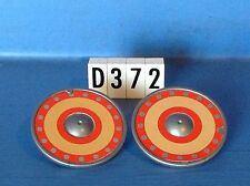 (D372) playmobil 2 boucliers gris rouge et beige chevalier soldat ref 3666 3268