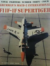 Grumman F11F-1F Supertiger Book Naval Fighters 44
