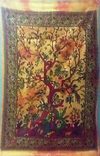 Indian Tapestry Tree of life Wall Hanging hippy Throw 30*40 hippie TAPESTRY EDH
