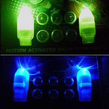LED TIRE LIGHT WHEEL NEON TYRE STEM VALVE CAPS CAR BIKE TIRE BICYCLE MOTORCYCLE