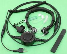 Sundely Military Throat Mic Headset/Earpiece for Yaesu Radio FT811 FT911 FT470