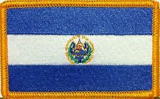 El Salvador Flag Embroidered Iron-On Patch Military Shoulder Emblem
