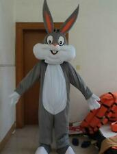 Bugs Bunny Rabbit Mascot Costume Cartoon Character Adult Suit Fancy Dress