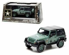 GREENLIGHT 1/43 2012 JEEP WRANGLER U.S. ARMY Diecast Car Special Edition 86043