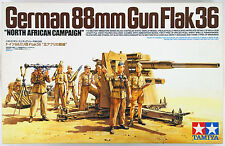 "1/35 Tamiya German 88mm Gun Flak36 - ""North African Campaign"" #35283"
