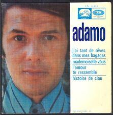 ADAMO PRESSAGE SPAIN / ESPAGNE  J'AI TANT DE REVES 45T EP BIEM PATHE EPL 14.391