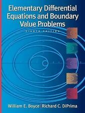 Elementary Differential Equations and Boundary Value Problems , 8th Edition, wit