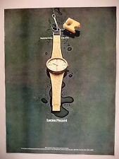 Lucien Piccard Watch PRINT AD - 1969